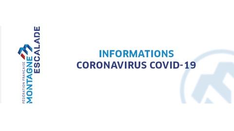 Bannière FFME COVID-19