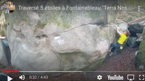 Arnaud Ceintre Fontainebleau Club d'escalade Atoutprises 75015 Paris