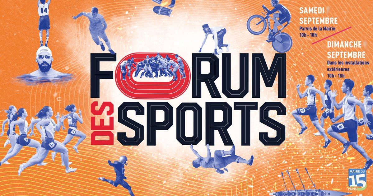Forum des Sport Paris 15 2021