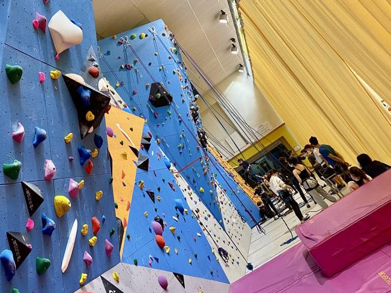 Mur blocs escalade Paris 15 Club Atoutprises