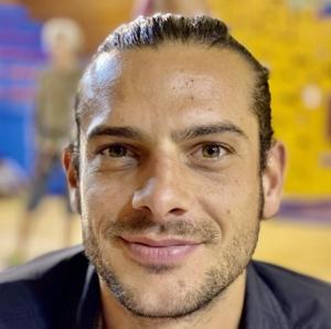 Clément Gardon BE enseignant BE au club d'escalade Atoutprises