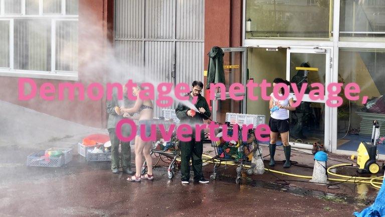 Opération de nettoyage de prises chez Atoutprises
